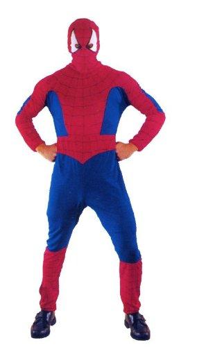 Guirca sl.. - spider-man costume spiderman adulto, blu e rosso, 80006