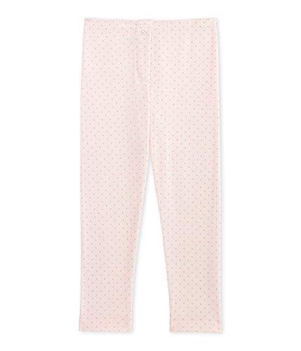 Petite-leggings Wolle (Petit Bateau Mädchen Legging Thermounterwäsche - Unterteil, Rosa (Vienne/Gretel 78), 104 (Herstellergröße: 4ans/104cm))
