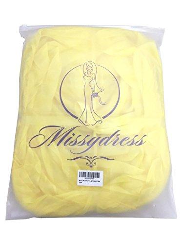 Petticoat Reifrock Unterröcke Damen Lang Fur Brautkleid Hochzeitskleid Vintage Crinoline Underskirt. Gelb
