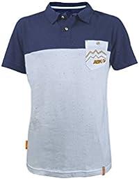 ABK - Robusta Polo - Polo taille L, gris/bleu