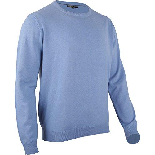 Fashion Herren Pullover (hemmy Fashion Herren Baumwoll Pullover (hellblau/XL))