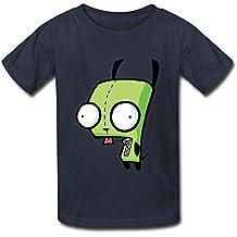 Funny Invader Zim Enfant Garçons et Filles T-shirt O cou