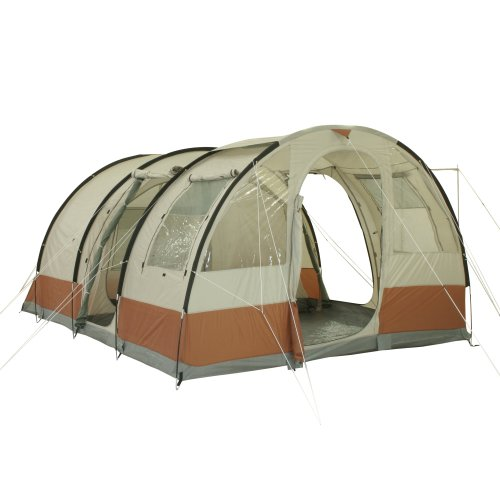 10T Livingston ...  sc 1 st  UK Sports Outdoors C&ing Hiking Jogging Gym fitness wear Yoga & 10T Livingston 5 - 5-person tunnel tent with full ground sheet ...