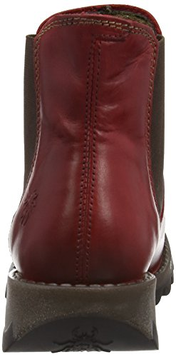 Fly London MAKE Damen Chelsea Boots Rot (Red 004)
