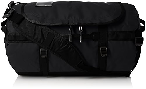 The North Face Base Camp Duffel S, Mochila impermeable color Negro (Tnf Black)