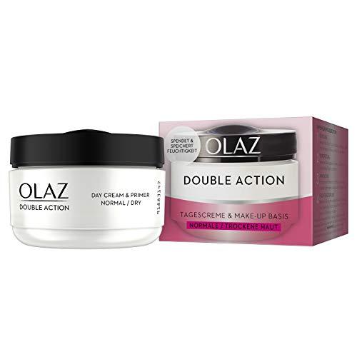 Olaz Double Action Tagescreme und Make-up Basis Feuchtigkeitspflege