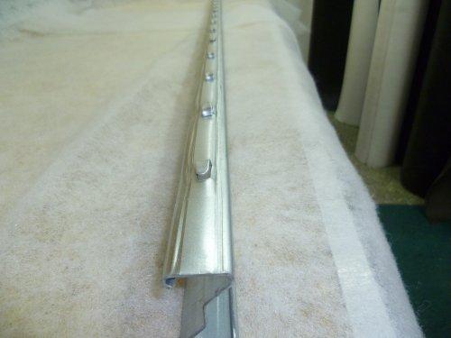 Aquagart Z-Profil Zaunpfosten 1,5 m verzinkt I 10 Stück Metallzaunpfosten aus Bandstahl 1,2mm stark I hochwertige Zaunpfähle für Wildzaun Weidezaun Drahtzaun Wildschutzzaun
