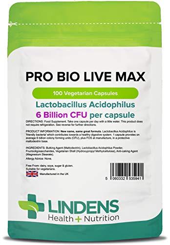 Lindens - Probiotische Max (+ Prabiotikum) Tabletten - 100 Stuck -