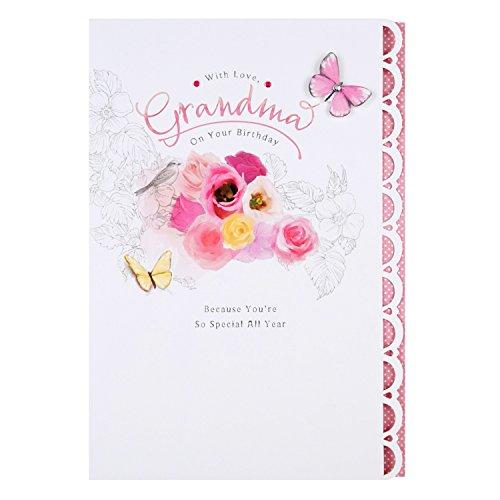 Hallmark Biglietto Di Auguri Di Compleanno Per La Nonna Con Testo