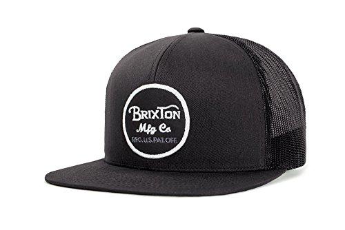 Brixton Cap WHEELER Mesh  black, One Size, BRIMCAPWHE