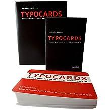 TYPOCARDS - Regeln und Begriffe zur Mikrotypografie: Studienausgabe