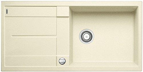 BLANCO METRA XL 6 S - FREGADERO (MARFIL  490 X 430 MM  19 CM  100 CM  19 CM  50 CM)