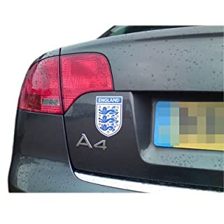Small World Cup Official Magnetic England 3 Three Lions Car / Van Badge Crest