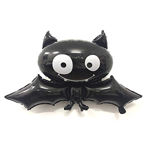 Pipistrello Palloncini in Alluminio per Halloween 1 Confezione Halloween, Natale, Articoli per Feste e Compleanni,Decorazione del Regalo di Ringraziamento Decorazioni Palloncini