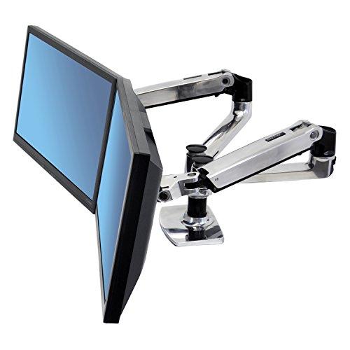 ergotron monitorhalterung Ergotron LX 45-245-026 (Schwarz/Silber)