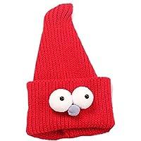 Insect Enfants mignons faits à la main Resile Chapeau d'hiver Bébé chapeau chaud, rojo
