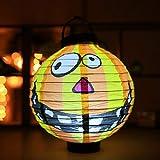 folowe Halloween Party Dekoration Spinne Bat Skelett hängende Papier Kürbis Laterne Innenbeleuchtung Main Kitchen Garden Party Decoration