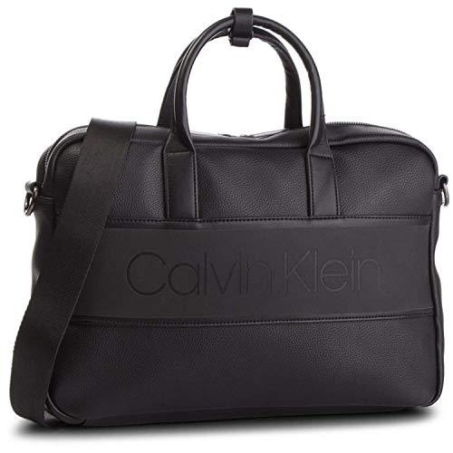 Calvin Klein Strike Slim Laptop Bag Black
