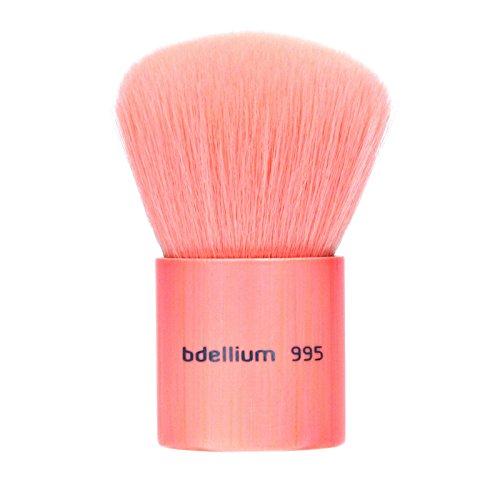Bdellium Tools 995 – Pinceau qualité professionnelle pour maquillage Kabuki Pink Bambu