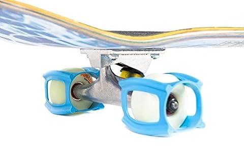 SkaterTrainer 2.0 Das Skateboard-Zubehör zum Lernen, Üben und für Tricks zum Landen im Handumdrehen!, (Pad Riser Kit)