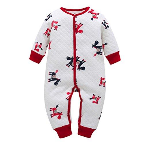 KaloryWee Baby Boy Rompers, Baby Sleeper Vests Romper Jumpsuit