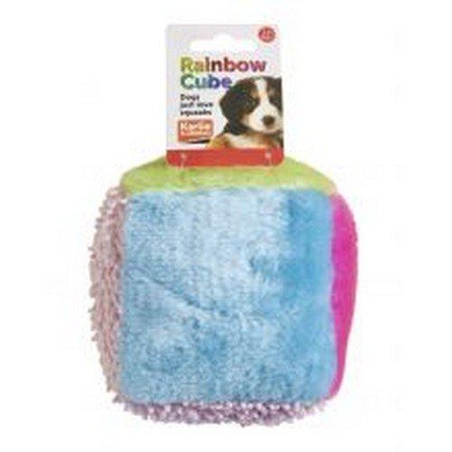 Sharples - Cubo peluche Rainbow perros 13cm Variado