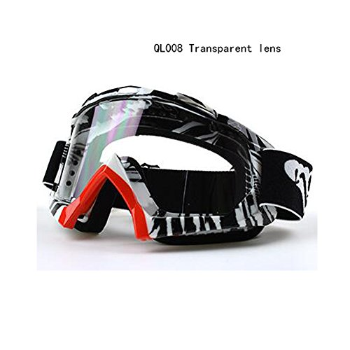 logas Off-Road-Motorrad-Schutzbrillen windundurchlässige ATV Bike Racing Motocross Brillen Anti-UV