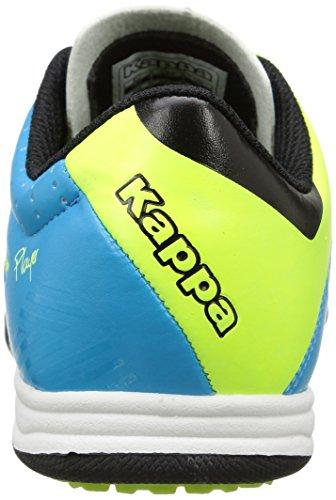 Kappa - 4 Soccer Player Tg, Scarpe da Football americano Unisex – Bambini Bleu (Lt Blue/Yellow)
