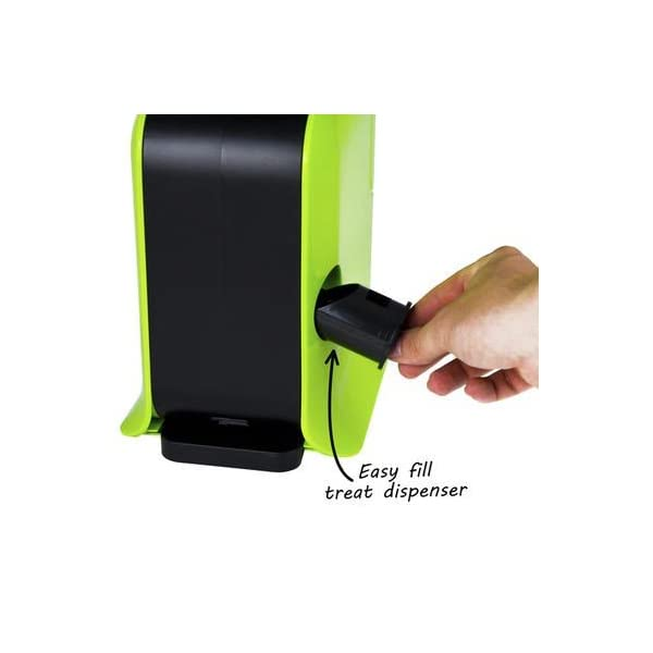 Electriq Automatic Dog Ball Launcher with Treat Dispenser 6