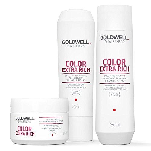 Goldwell DualSenses Color Extra Rich Brillanz Haarpflege-Set (3Produkte)
