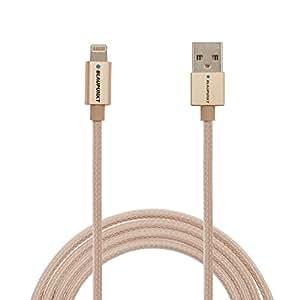Blaupunkt BI03DJE5 Apple Certified Lightning to USB 2.0 Cable (Gold)