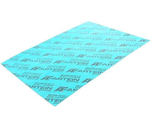 Guarnizione carta universale 140X 195mm spessore 0,50mm 400gradi C Maxi Scooter, Scooter, Quad, cambio CICLOMOTORE