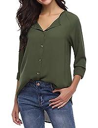 Suchergebnis auf Amazon.de für  Grün - Blusen   Tuniken   Tops, T ... 09265d5712