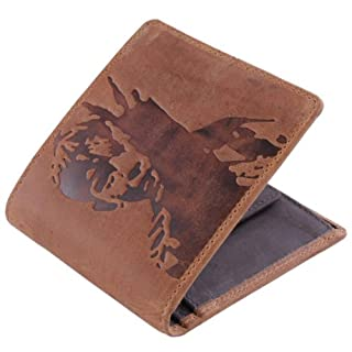 Mustard Mens Kes Leather Wallet - Tan