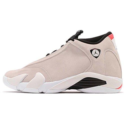 Nike Herren Air Jordan 14 Retro Beige Leder/Synthetik Sneaker 42,5 (Jordan 14 Air Air)