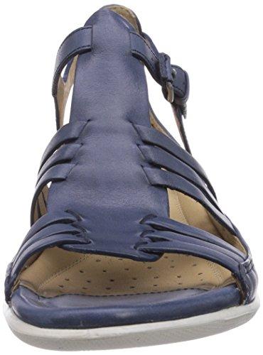 Ecco Damen Flash Brick Ice Point Sandalen Blau (DENIMBLUE 2086)