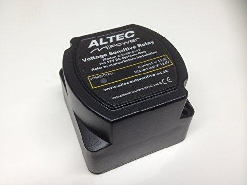 Relé separador de carga inteligente/sensible al voltaje de la alimentación (M), 12V, 140amperios, M.