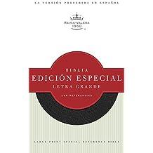 Letra Grande Edicion Especial Con Referencias-RV 1960