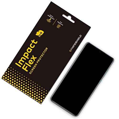 Rhino Shield Screen Protector für Huawei P30 [Impact Flex] | Edge to Edge/Schockresistent/Kompatibel mit Fingerabdruck Sensor - Klarer und Kratzresistenter Displayschutz (Protector Rhino Shield-screen)