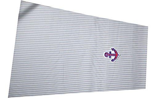 C-Fashion-Design Sonnensegel zum Wenden, Sonnensegel für Kinderwagen mit Stickerei, Sonnenschutz für Kinderwagen