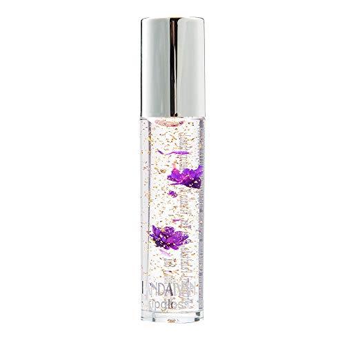 Huihong Jelly Lippenstift  Farbe ändern  Magische Temperatur Schönheit Helle Blume Kristall...