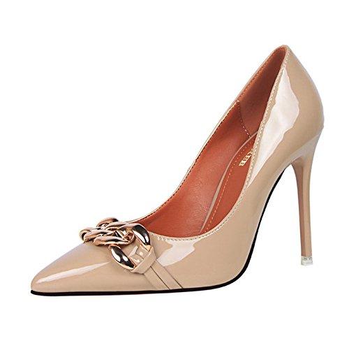 6fbb32408abfea XINJING-S Bowknot High Heels Schuhe Party Hochzeit Frauen Pumps Heels OL  Kleidung Schuhe Sandalen