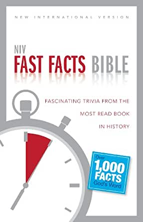 Niv Fast Facts Bible Ebook Fascinating Trivia From The