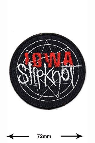 Slipknot Rock Weste Jacke IOWA Musicpatch T shirt Logo Aufnäher bestickt Logo Sign Costum