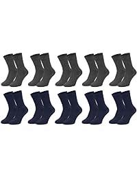 Men´s Fashion Lounge Herren Socken 'Comfortline', 5, 10 oder 20 Paar ohne Gummi, venenfreundlich, handgekettelte Spitze in 5 Farben und 2 Größen