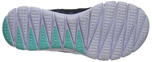 Skechers S-FlexFashion Play Mädchen Sneakers Blau (NVMT)