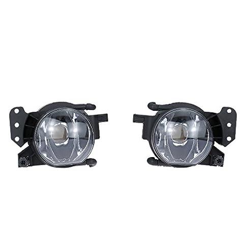 KKmoon Ein Paar links & rechten vorderen Nebel Licht Lampenschirm
