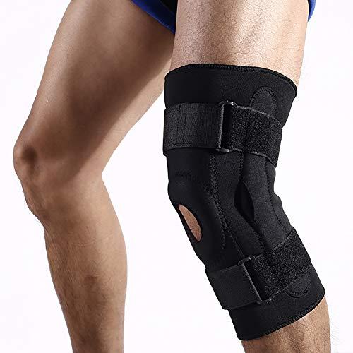 BLTX Atmungsaktiver Kniebandage Verletzung des Meniskus Und Weiteren Gelenkbeschwerden, Mit Klettverschluss Einstellbare Universalgröße Kniestütze, Passt Rechts Und Links
