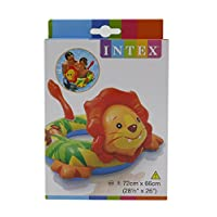 Intex Inflatable Animal Swim Ring Swimming Pool Float Lion Shape