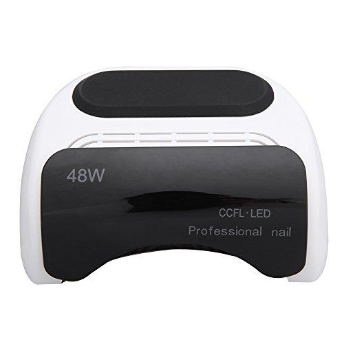 Abody 110-220V 48W Séchoir à Ongles Professional CCFL Lampe LED + UV Sèche-ongles avec Minuterie Automatique